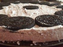 Gâteau d'Oreo Photographie stock libre de droits