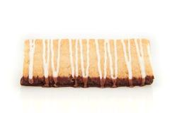 Gâteau danois de massepain photographie stock