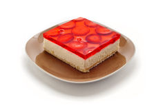 Gâteau de baie Photo libre de droits