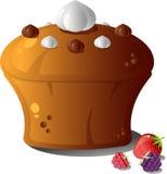 gâteau de baies Photos stock