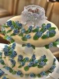 Gâteau de baptême Images libres de droits