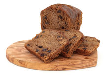 Gâteau de Bara Brith Photos stock
