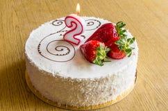 Gâteau de Birhday Image stock