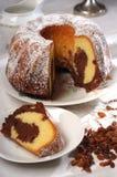 Gâteau de biscuit Photo stock