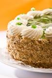 Gâteau de Bisquit Photos libres de droits