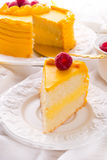 Gâteau de boisson alcoolisée d'oeufs Photo libre de droits