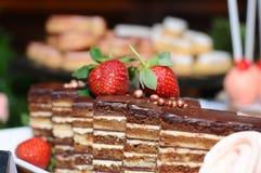 Gâteau de bruit Photos stock
