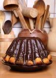 Gâteau de Bundt Photographie stock