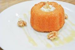 Gâteau de bundt d'érable Photographie stock libre de droits