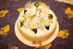 Gâteau de célébration Photos libres de droits