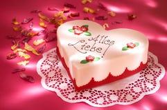 Gâteau de célébration Photographie stock