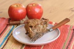Gâteau de café d'Apple Image libre de droits