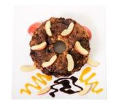 Gâteau de café d'Apple Photographie stock