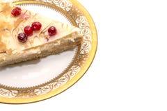 Gâteau de canneberge Images libres de droits