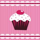Gâteau de cerise illustration de vecteur