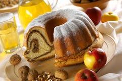 Gâteau de châtaigne Photos stock