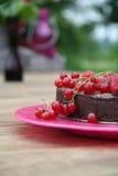 Gâteau de Choclate image libre de droits