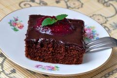 Gâteau de Choco Photo stock