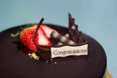 Gâteau de Choco Images stock