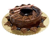 Gâteau de chocolat Photo stock
