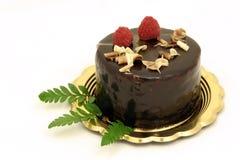 Gâteau de chocolat Image stock