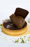 Gâteau de chocolat Images libres de droits