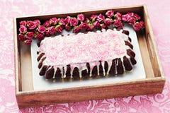 Gâteau de chocolat photo libre de droits