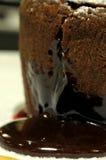 Gâteau de chocolat Photo stock