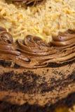 Gâteau de chocolat allemand Photo libre de droits