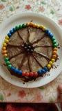 Gâteau de Chocovanilla Photographie stock