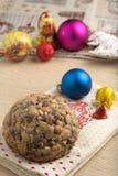 Gâteau de christamas de Pangiallo Photo stock