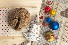 Gâteau de christamas de Pangiallo Photographie stock libre de droits