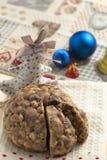 Gâteau de christamas de Pangiallo Photos stock