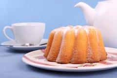 Gâteau de citron Photographie stock libre de droits