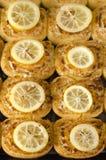 Gâteau de citron Image stock