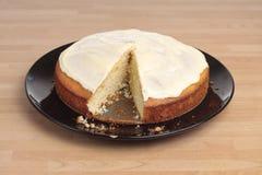 Gâteau de citron Photo libre de droits