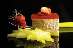 Gâteau de coeur Photographie stock libre de droits