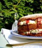 Gâteau de colibri Photographie stock libre de droits