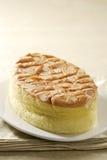Gâteau de coton d'amande image stock