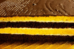 Gâteau de couche Photos libres de droits