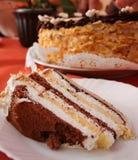 Gâteau de couche Photographie stock libre de droits