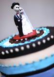 Gâteau de crâne Photos libres de droits