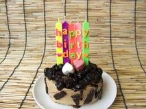 Gâteau de crème de biscuit de chocolat Photographie stock libre de droits