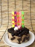 Gâteau de crème de biscuit de chocolat Photos libres de droits