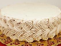 Gâteau de crème de chocolat Image stock