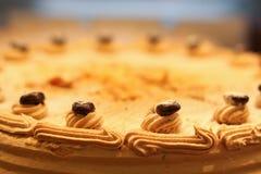 Gâteau de crème de Delicous Photos stock