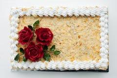 Gâteau de créateur Photographie stock