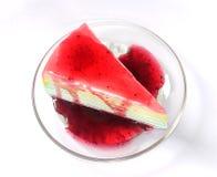 Gâteau de crêpe Photographie stock