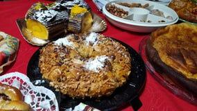 Gâteau de Crismas Photographie stock libre de droits