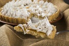 Gâteau de Cupuacu - dessert traditionnel au Brésil du nord-est photographie stock